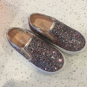 Carter's Shoes - 6 TODDLER sneakers glitter sparkle Carter's Baby